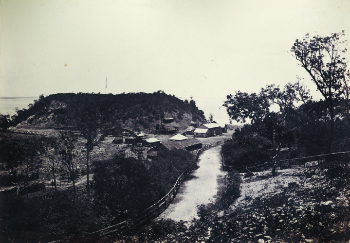 The Camp and Fort Hill, August 1873