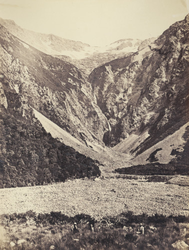 View in the Southern Alps