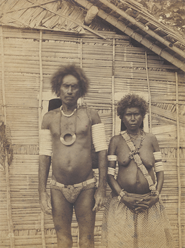 Monilaws Soga, Principal Chief of Bugotu, & wife