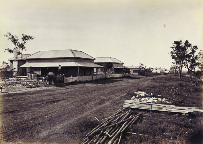 Court House and Esplanade, June 1879