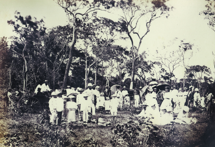 Picnic near Fannie Bay, 30 March 1877