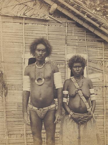 Monilaws Soga, Principal Chief of Bugotu, & wife